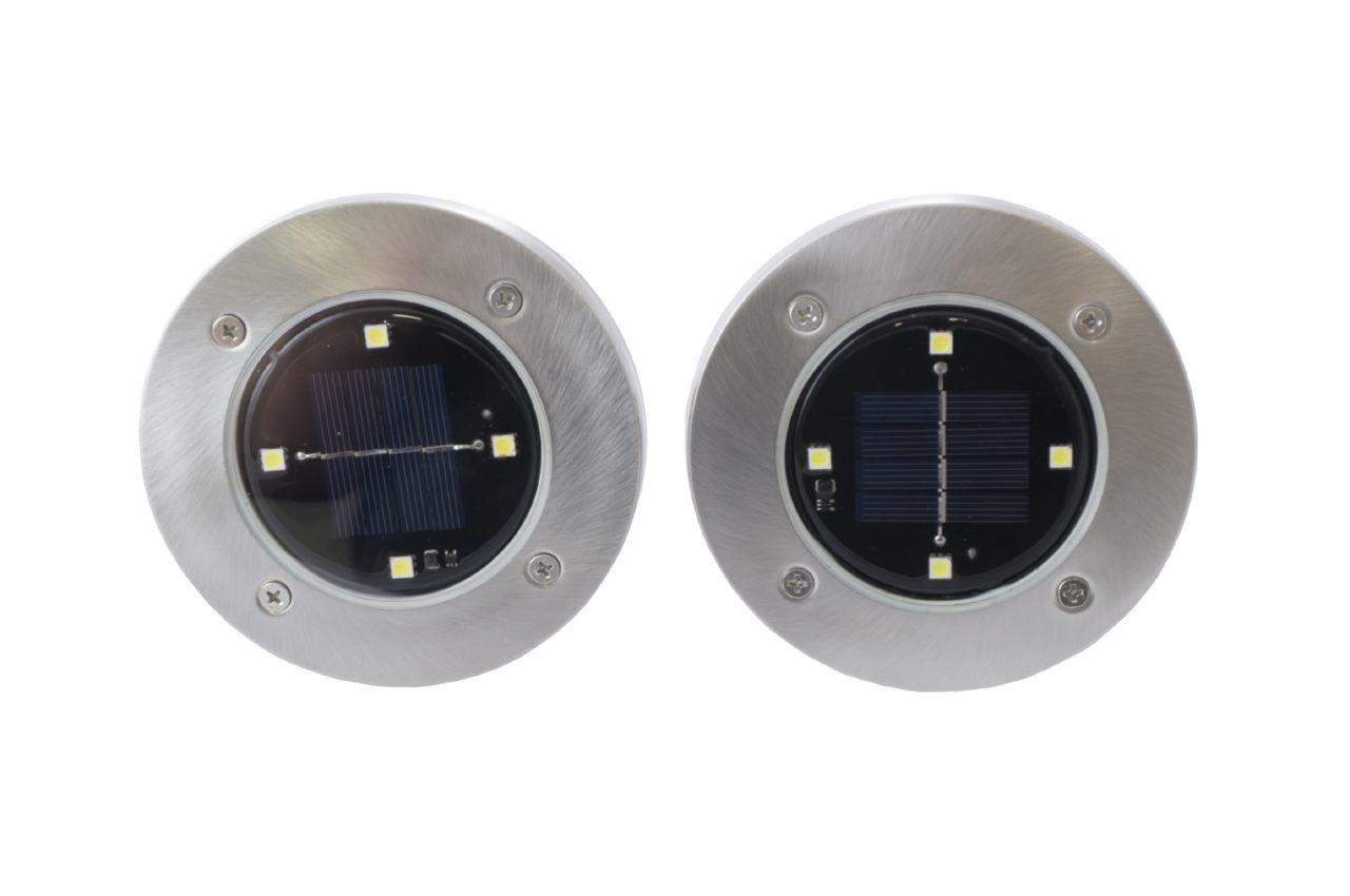 Светильник cадовый на солнечной батарее PRC Solar Pathway Lights - 118 мм (2 шт.)