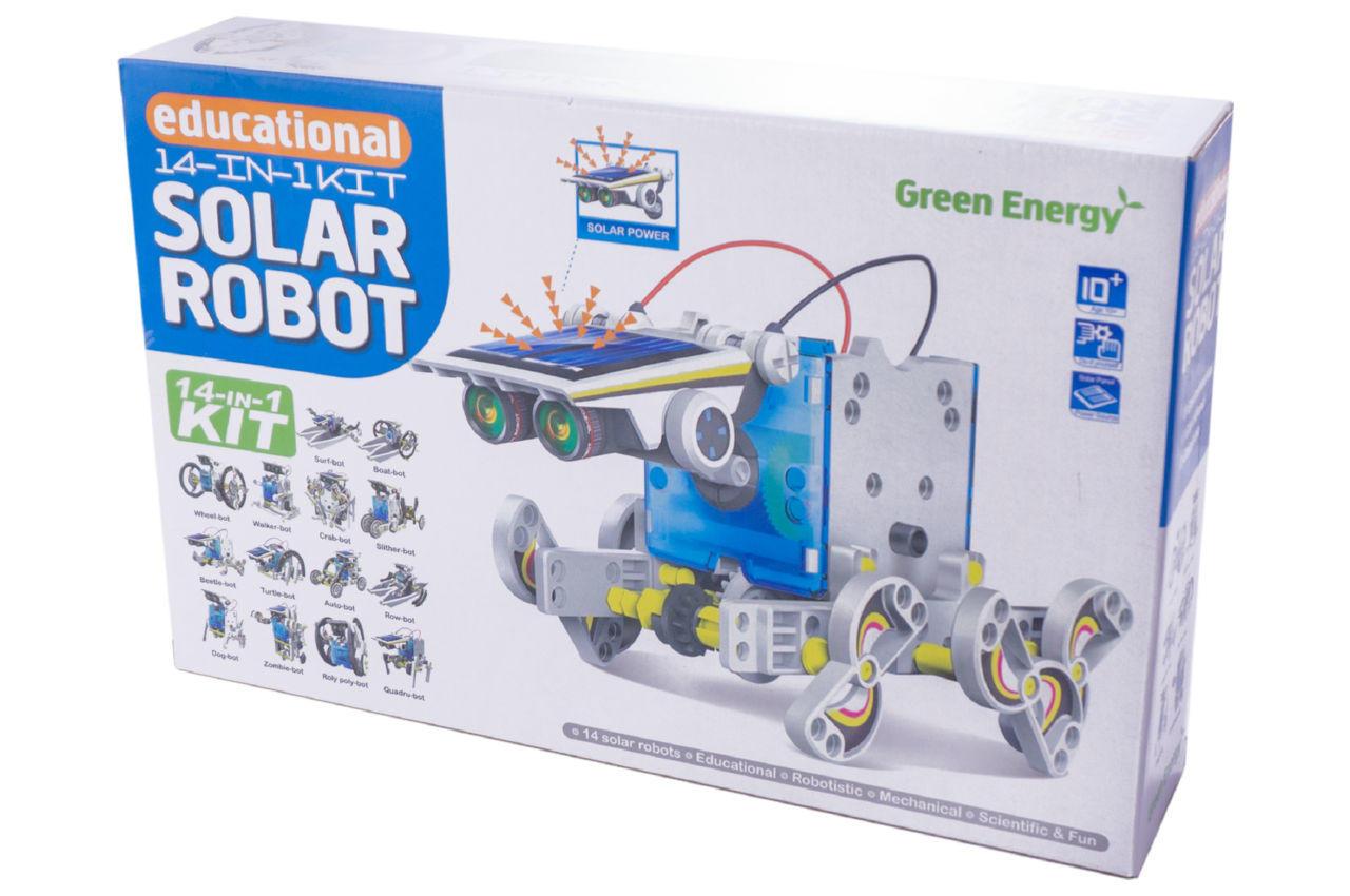 Конструктор на солнечных батареях PRC Solar Robot - 14-в-1