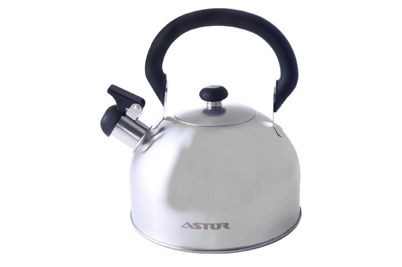 Чайник нержавеющий Astor - 2,5 л