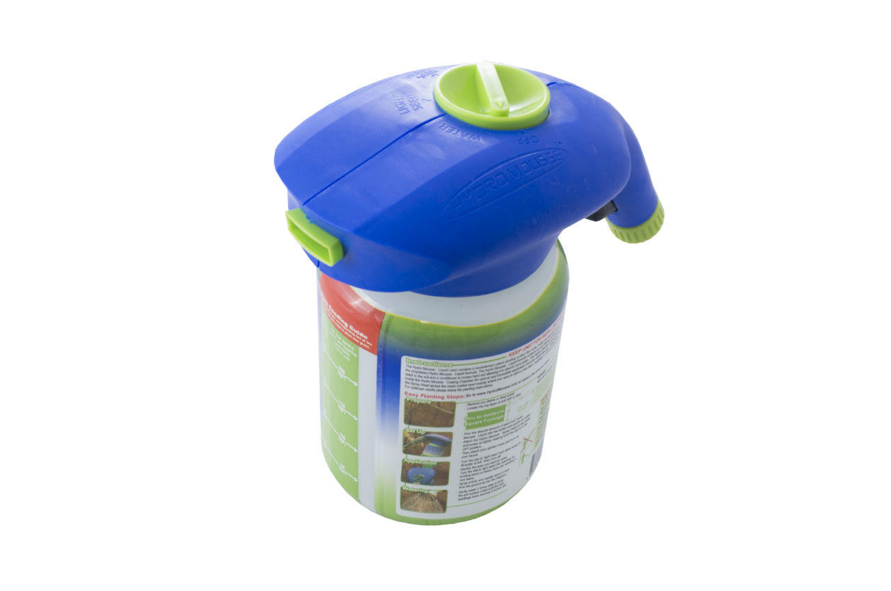 Жидкий газон PRC Hydro Mousse - распылитель + жидкость
