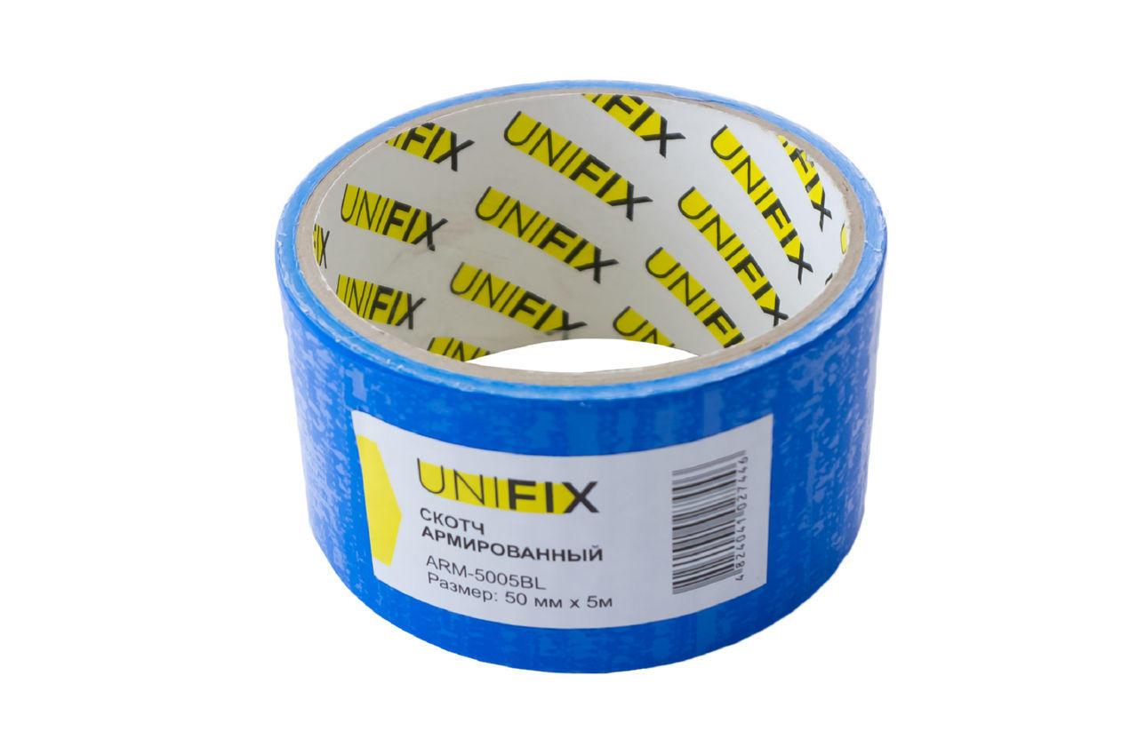 Лента армированная Unifix - 50 мм x 5 м синяя