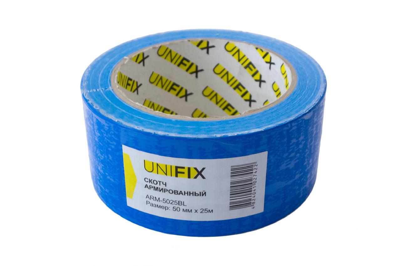 Лента армированная Unifix - 50 мм x 25 м синяя