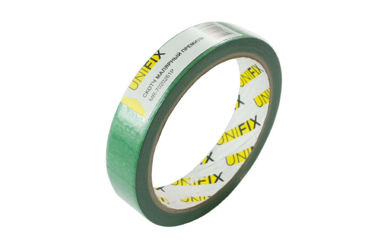 Лента малярная Unifix - 20 мм x 20 м премиум