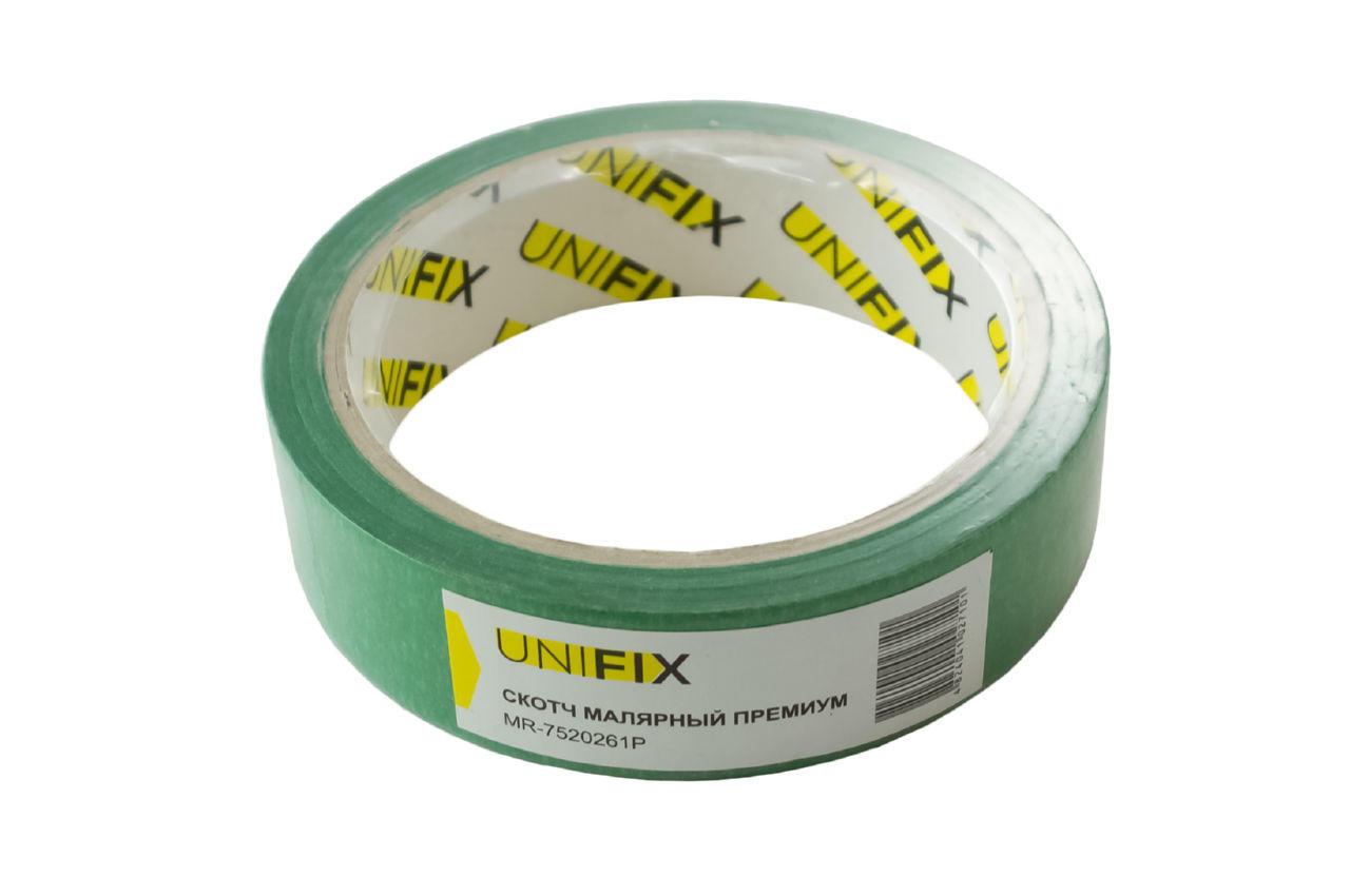 Лента малярная Unifix - 25 мм x 20 м премиум