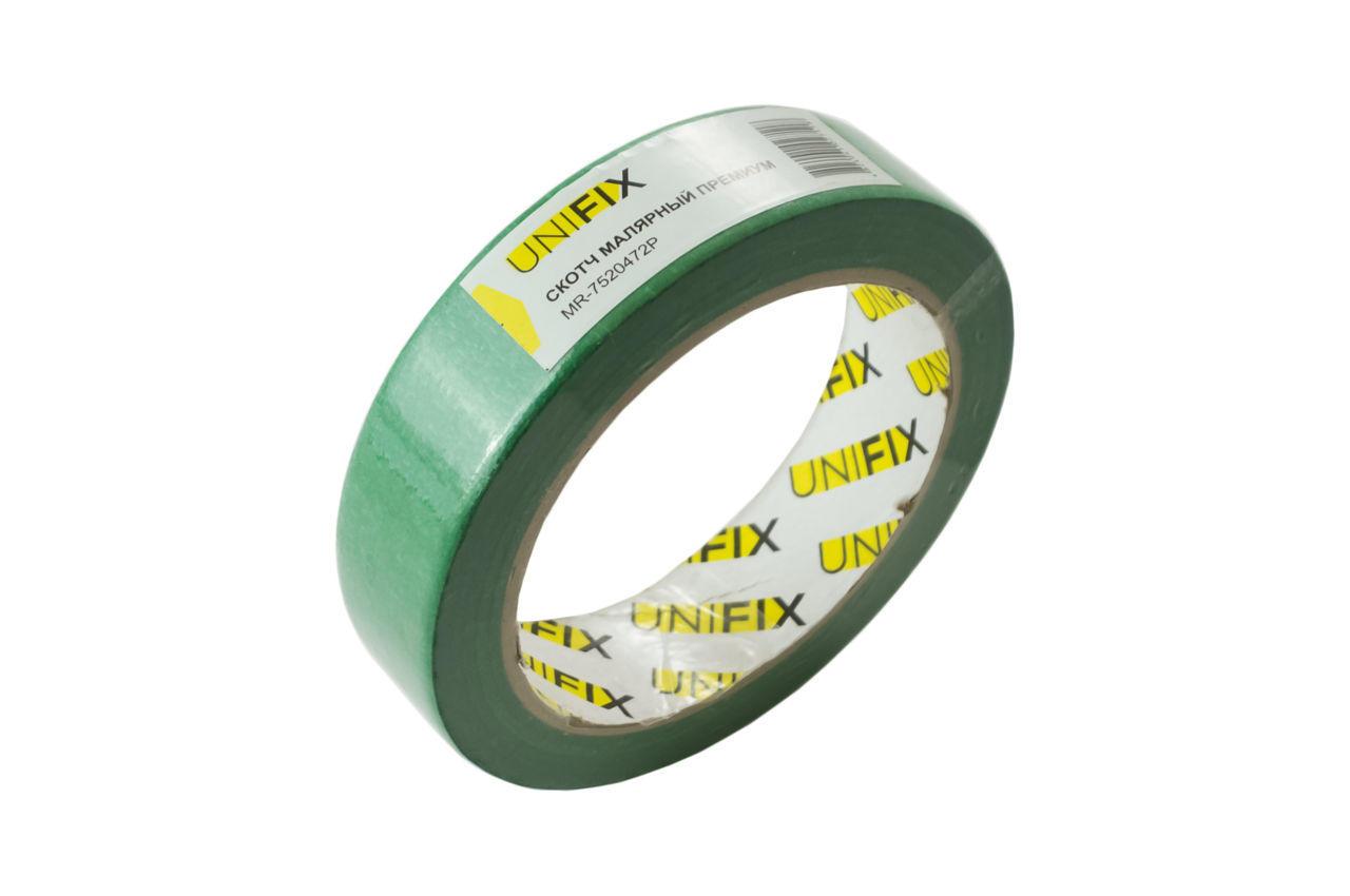 Лента малярная Unifix - 25 мм x 40 м премиум