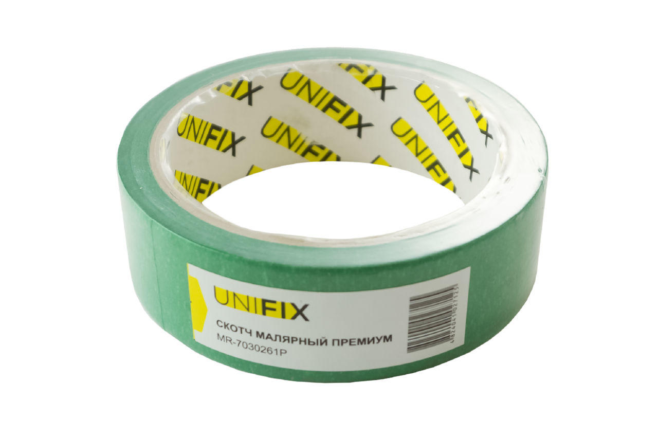 Лента малярная Unifix - 30 мм x 20 м премиум