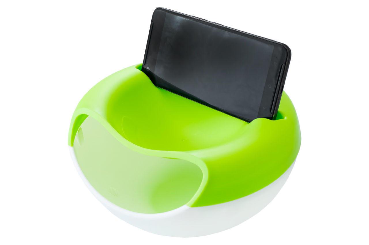 Миска для семечек с подставкой для телефона Elite - 210 мм