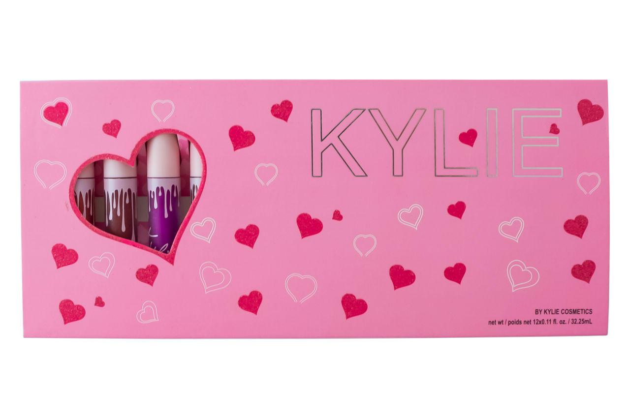 Набор матовых жидких помад Elite - Kylie (12шт)