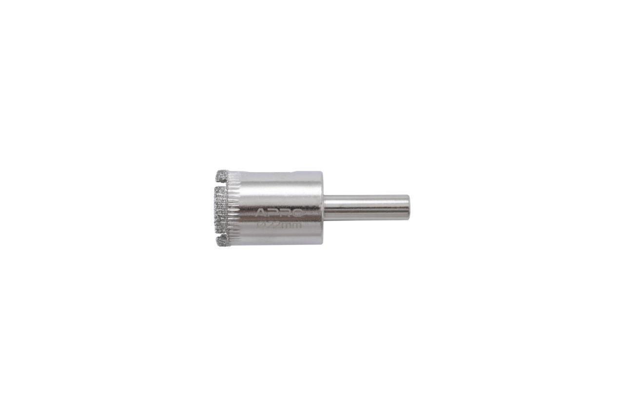 Сверло по стеклу и керамике трубчатое Apro - 22 мм
