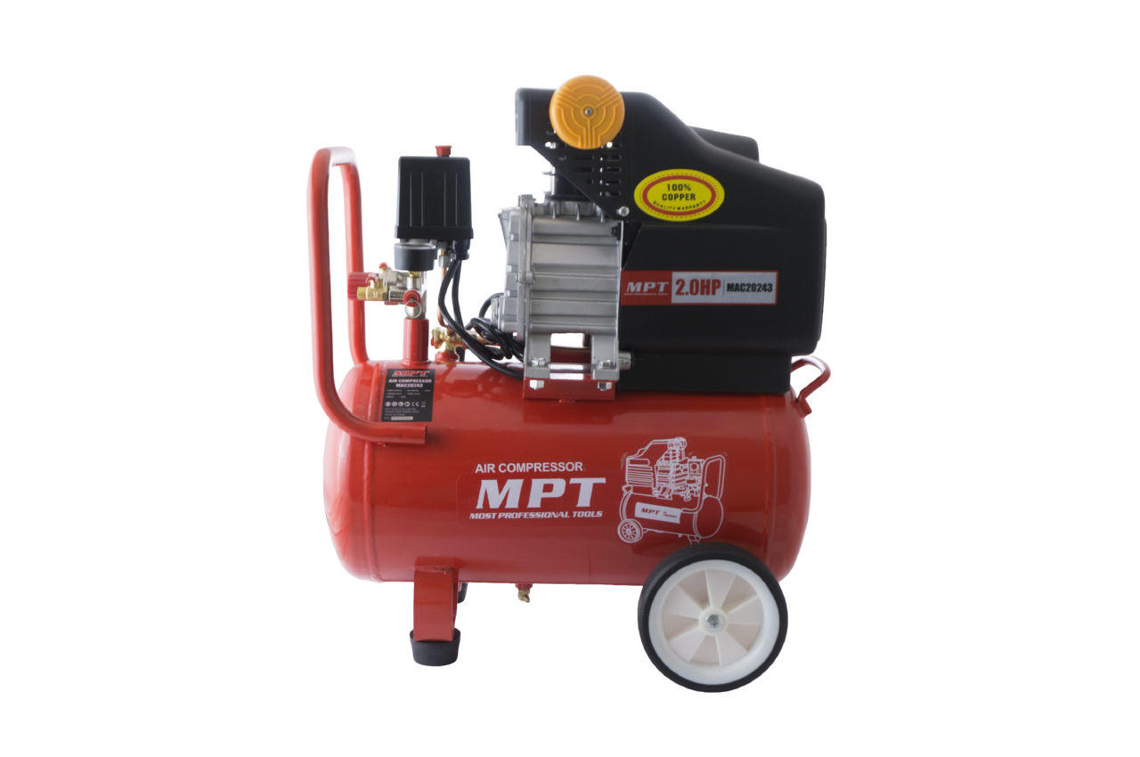 Компрессор масляный MPT - 24 л x 1500 Вт