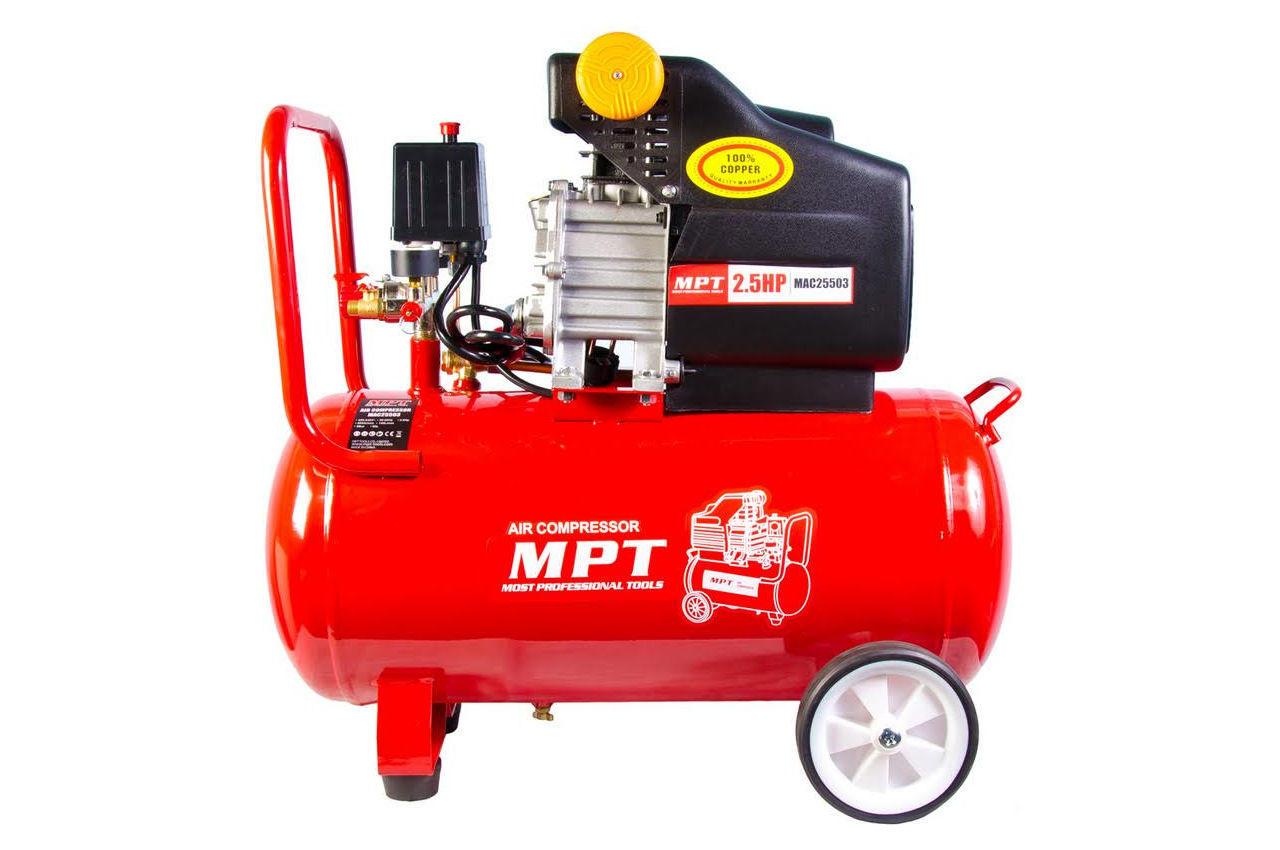 Компрессор масляный MPT - 50 л x 2000 Вт