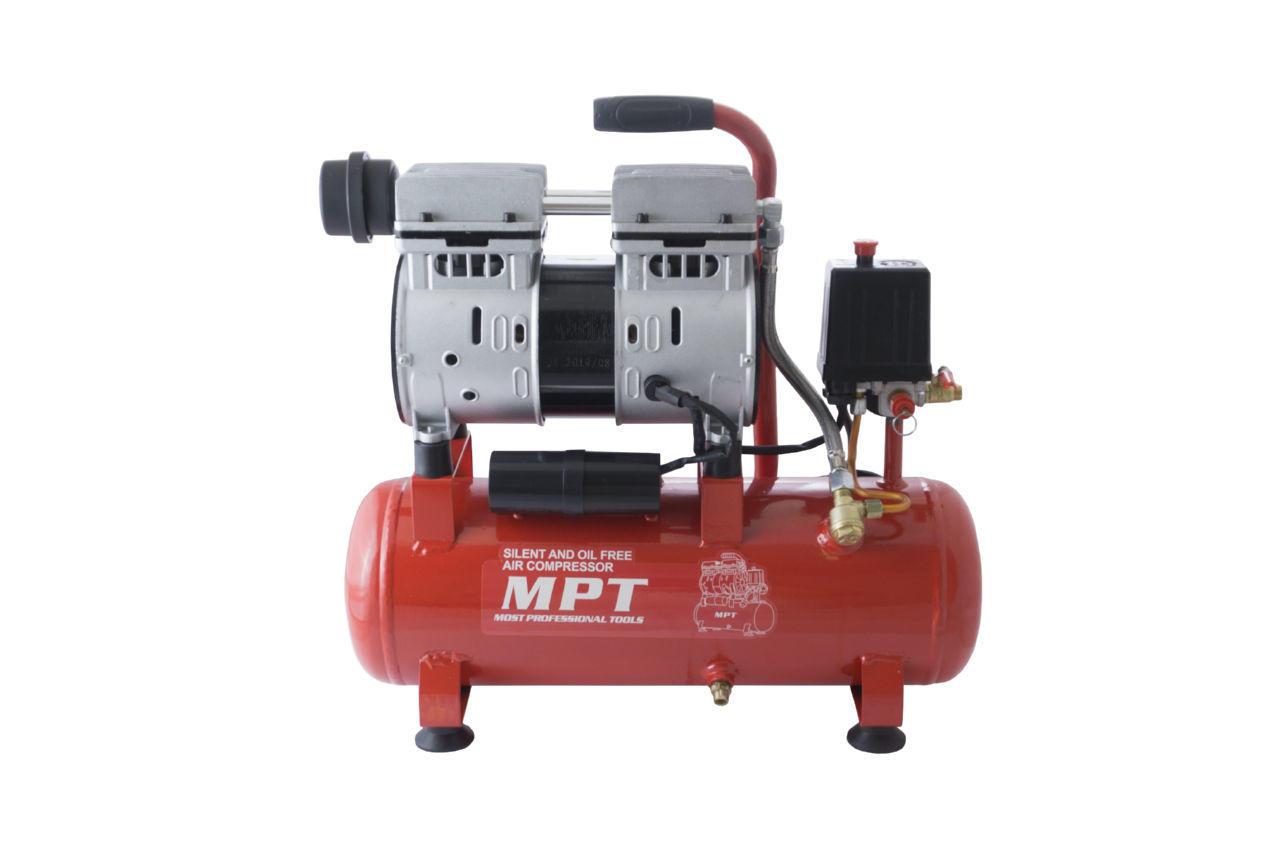 Компрессор безмасляный MPT - 10 л x 600 Вт