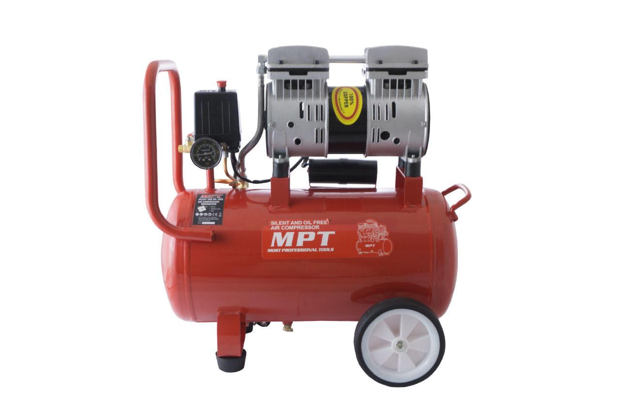 Компрессор безмасляный MPT - 24 л x 800 Вт