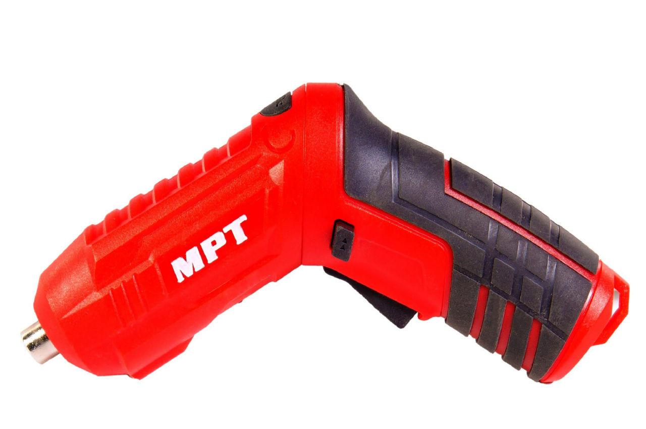 Отвертка аккумуляторная MPT - 4 В Li-Ion x 20 шт.