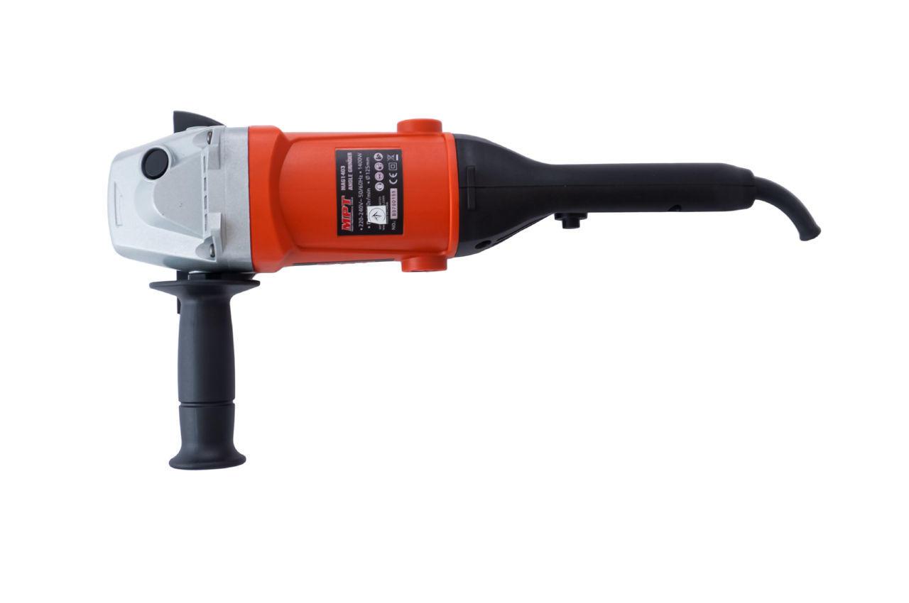 Шлифмашина угловая MPT - 1400 Вт x 125 мм