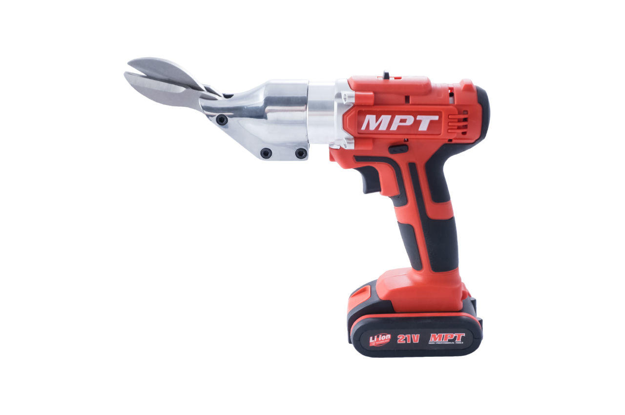 Ножницы по металлу аккумуляторные MPT - 21В Li-Ion