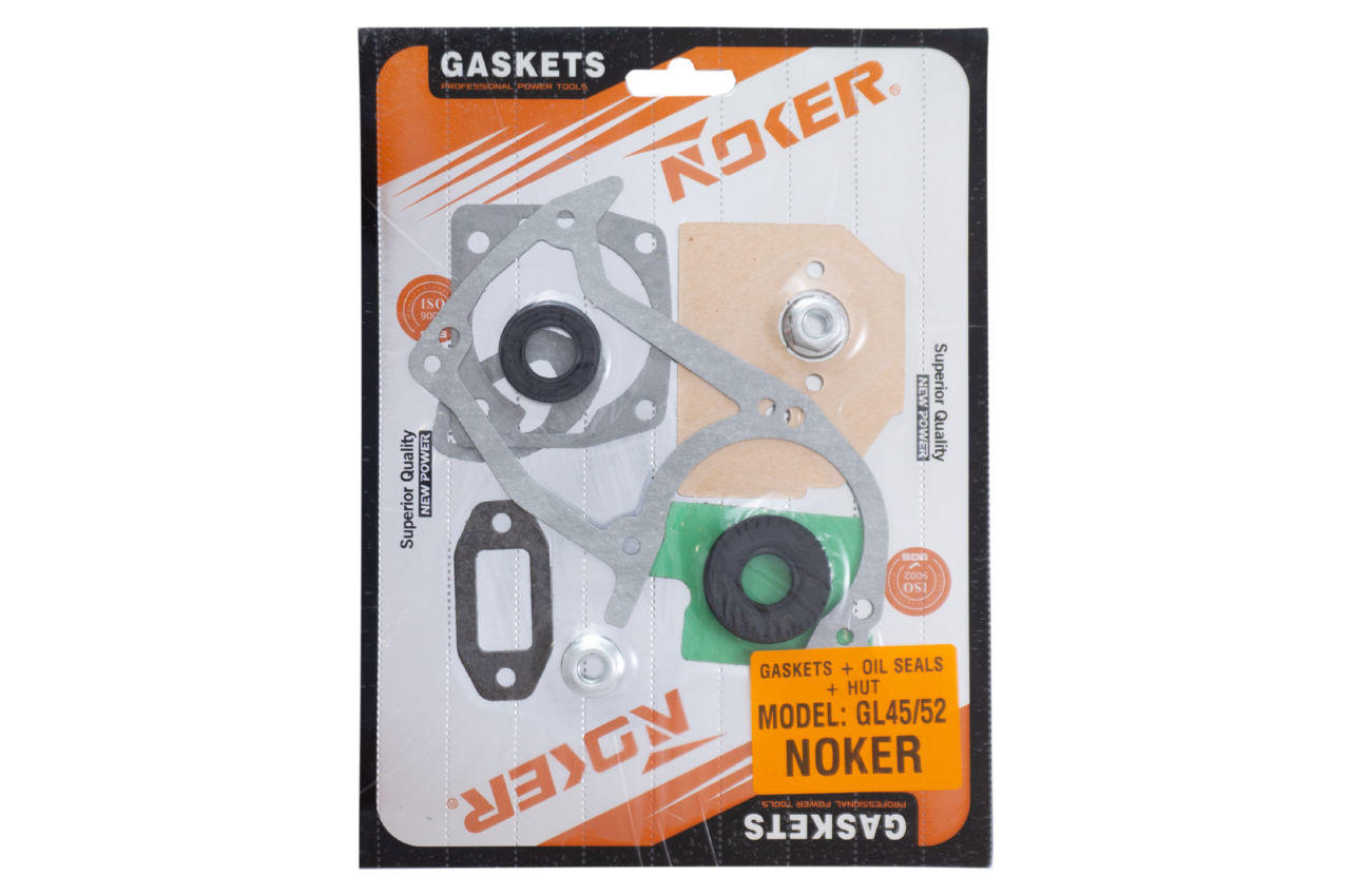 Прокладки + сальники + гайка шины Noker - GL 45/52