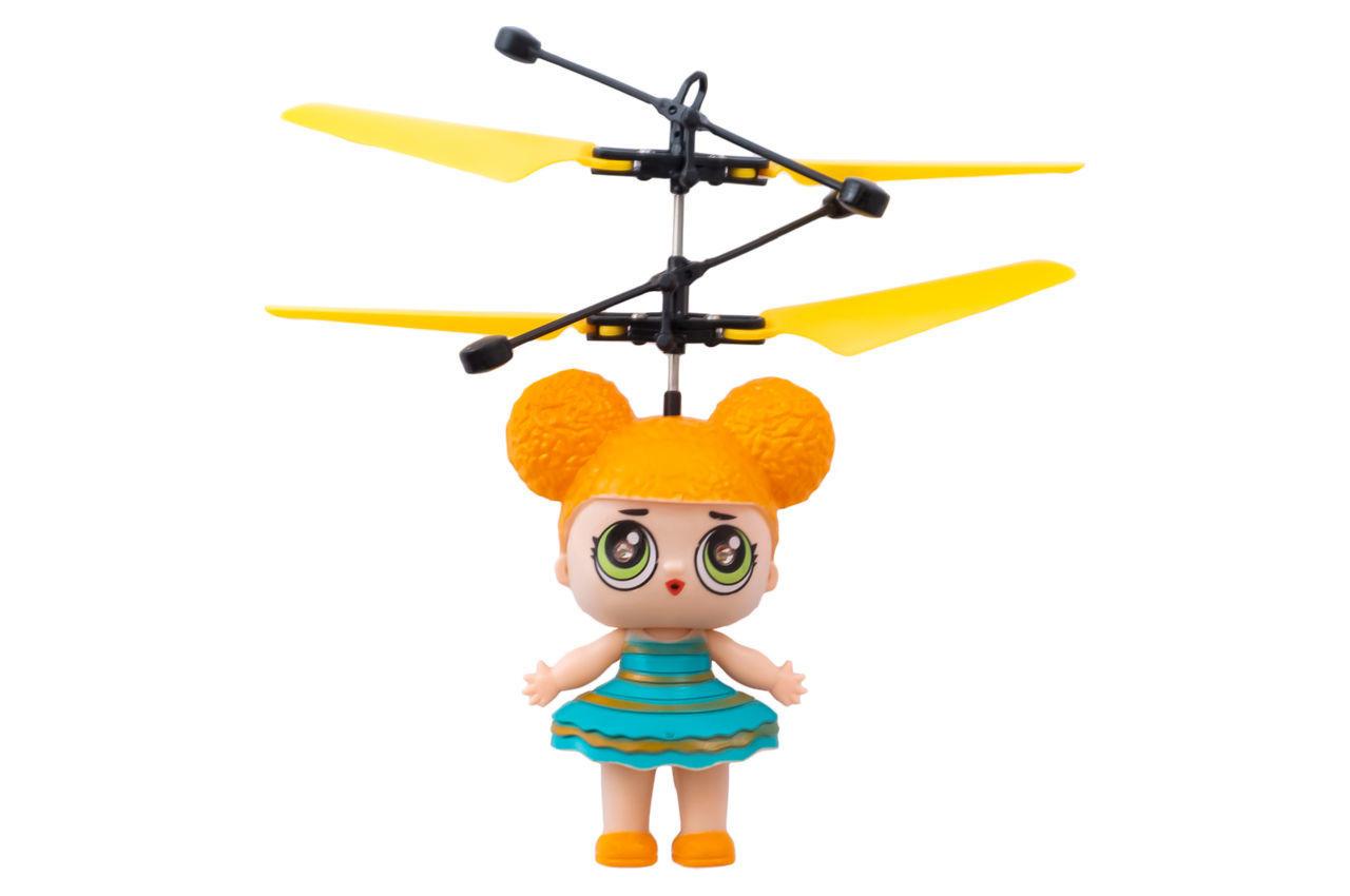 Индукционная летающая игрушка Elite - девочка