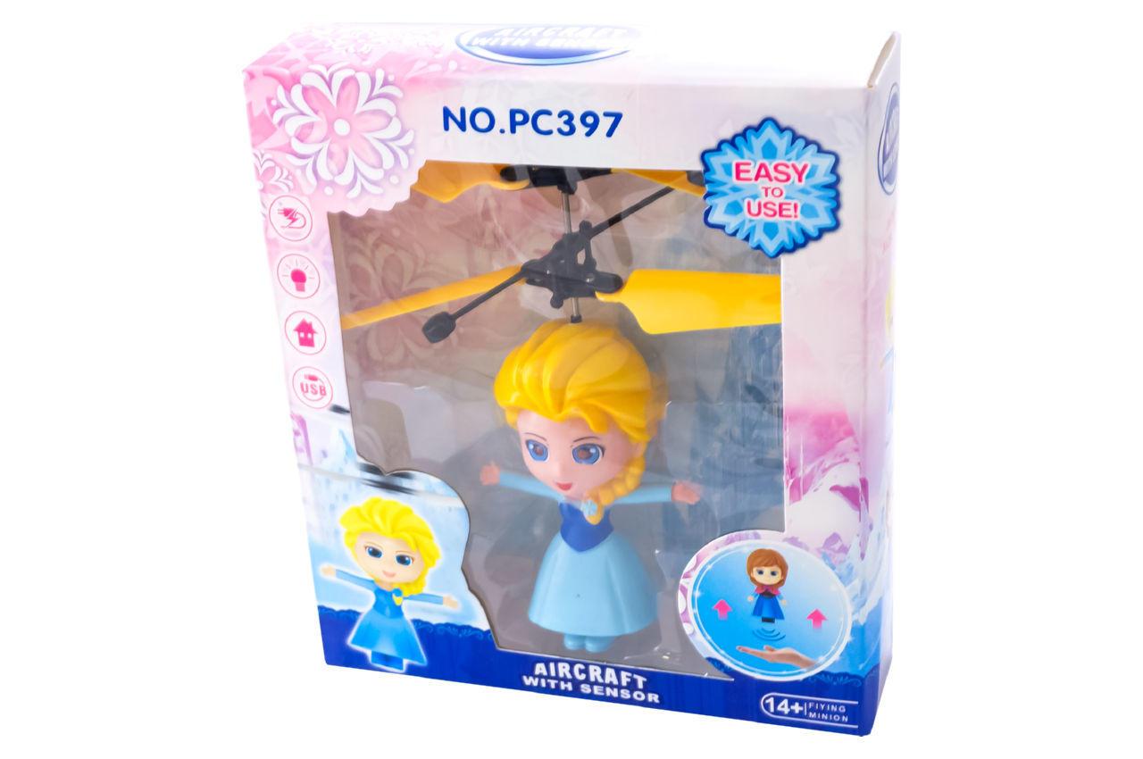 Индукционная летающая игрушка Elite - девочка снежинка