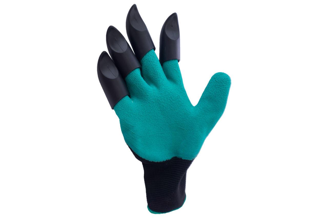 """Перчатки садовые Garden Gloves - 10"""" с когтями"""