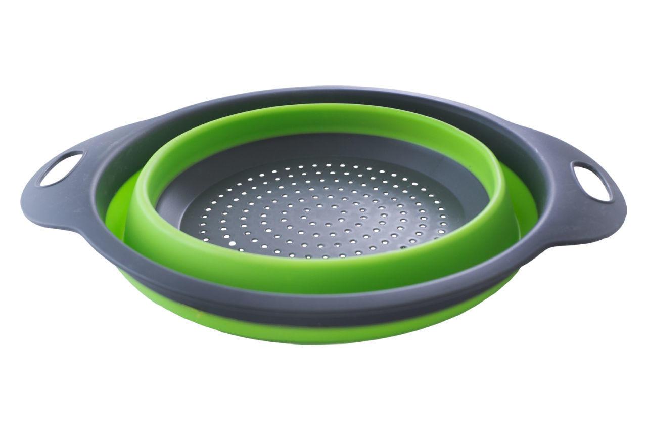 Дуршлаг силиконовый PRC - Collapsible Filter Baskets - 235 мм складной