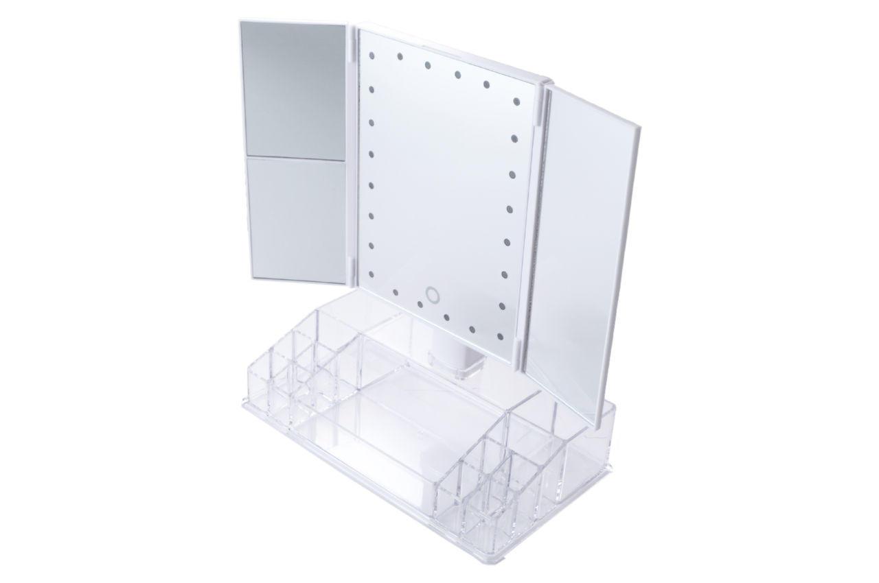 Зеркало с подсветкой Elite - 250 x 340 мм x 24 LED 1 шт.
