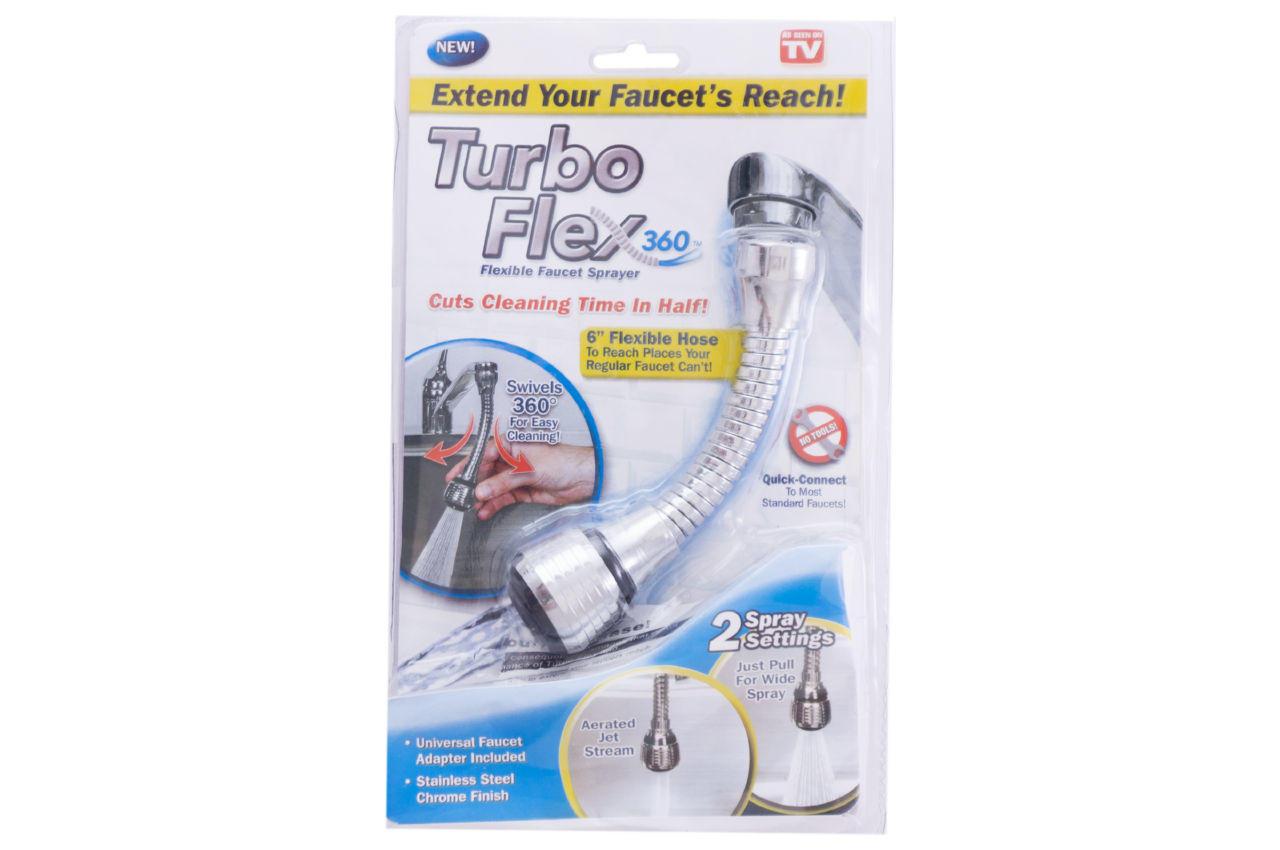 Насадка-аэратор на кран PRC -Turbo Flex 2 режима