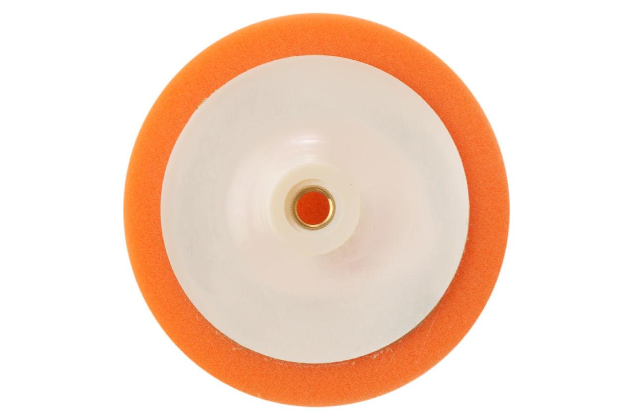 Круг полировальный поролоновый Рамболд - 150 мм x М14 оранжевый мягкий
