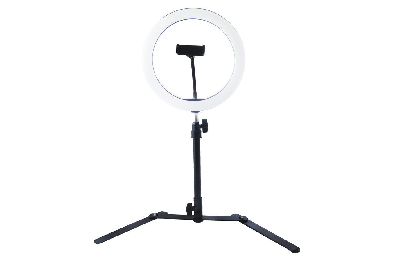 Кольцевая LED лампа со штативом Elite - 260 мм