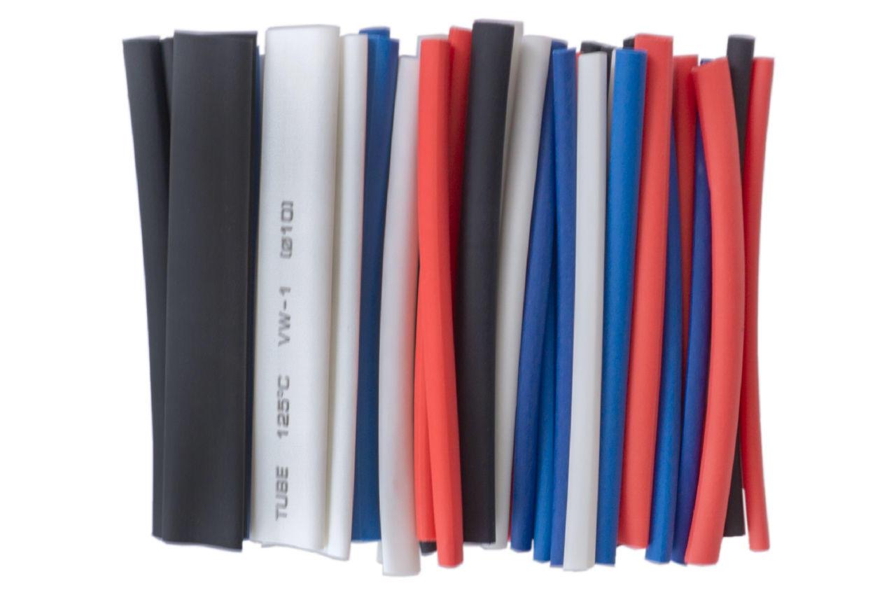 Набор трубок термоусадочных Apro - 100 мм (44 шт.)
