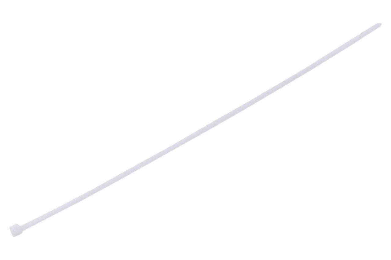 Хомут пластиковый многоразовый Apro - 5 x 400мм белый (100 шт.)