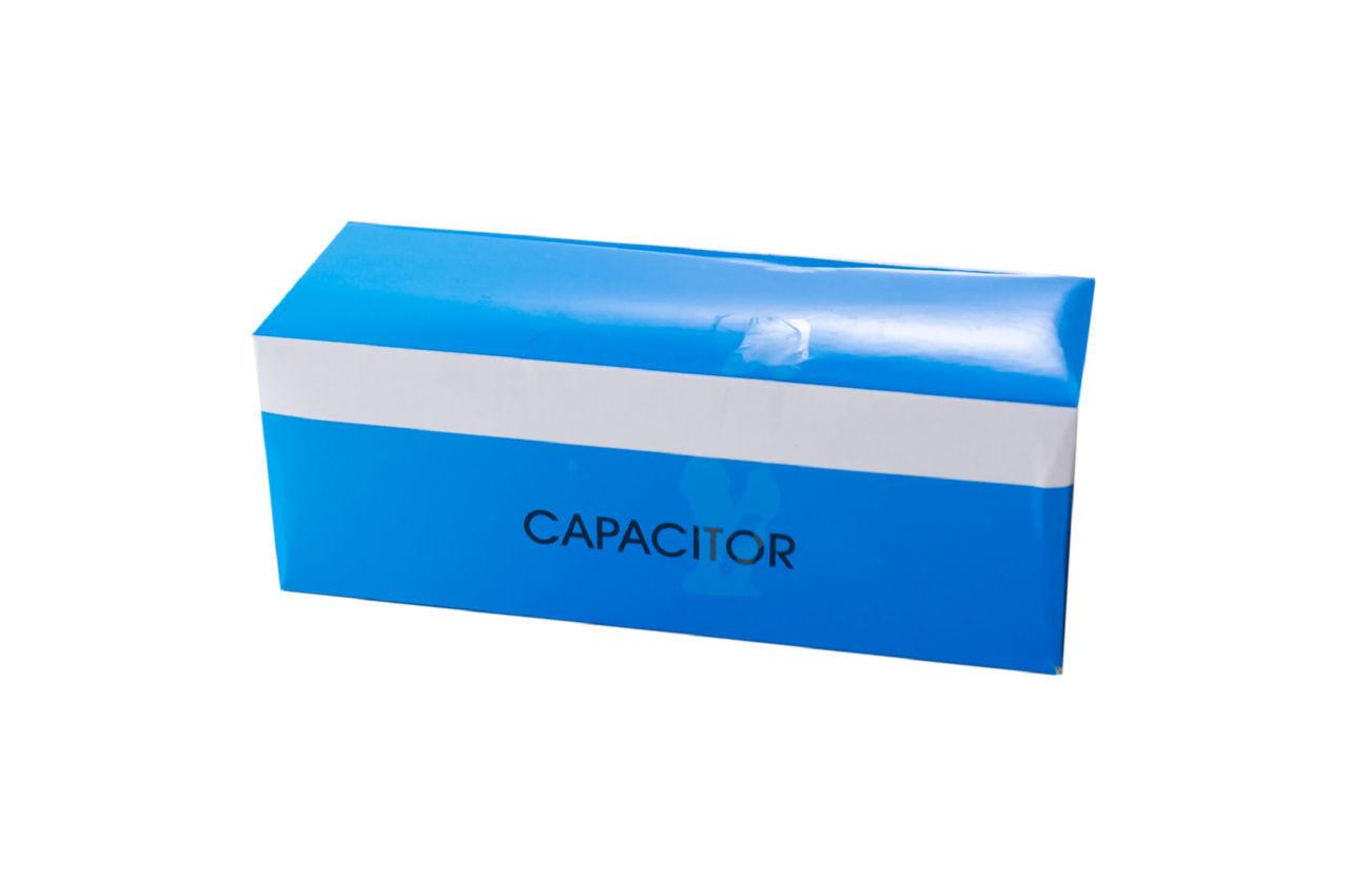 Конденсатор CBB60 Рамболд - 3 мкФ x 450 В провод+болт 1 шт.