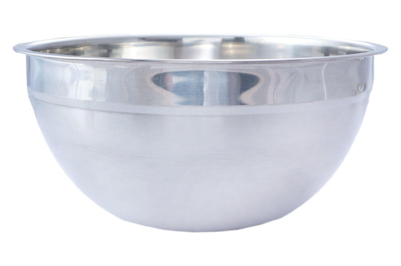 Миска нержавеющая АМА Kamille - 200 мм высокая