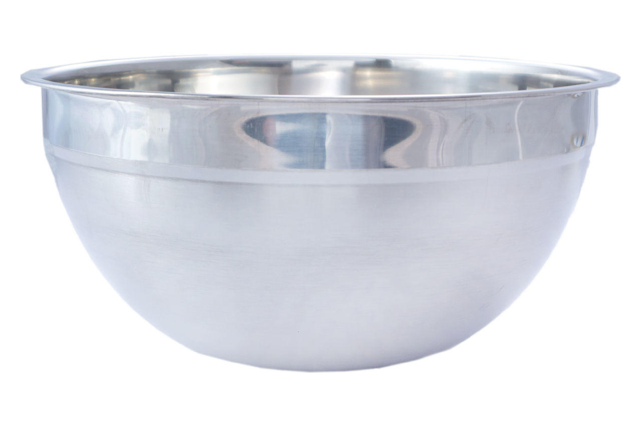 Миска нержавеющая АМА Kamille - 240 мм высокая