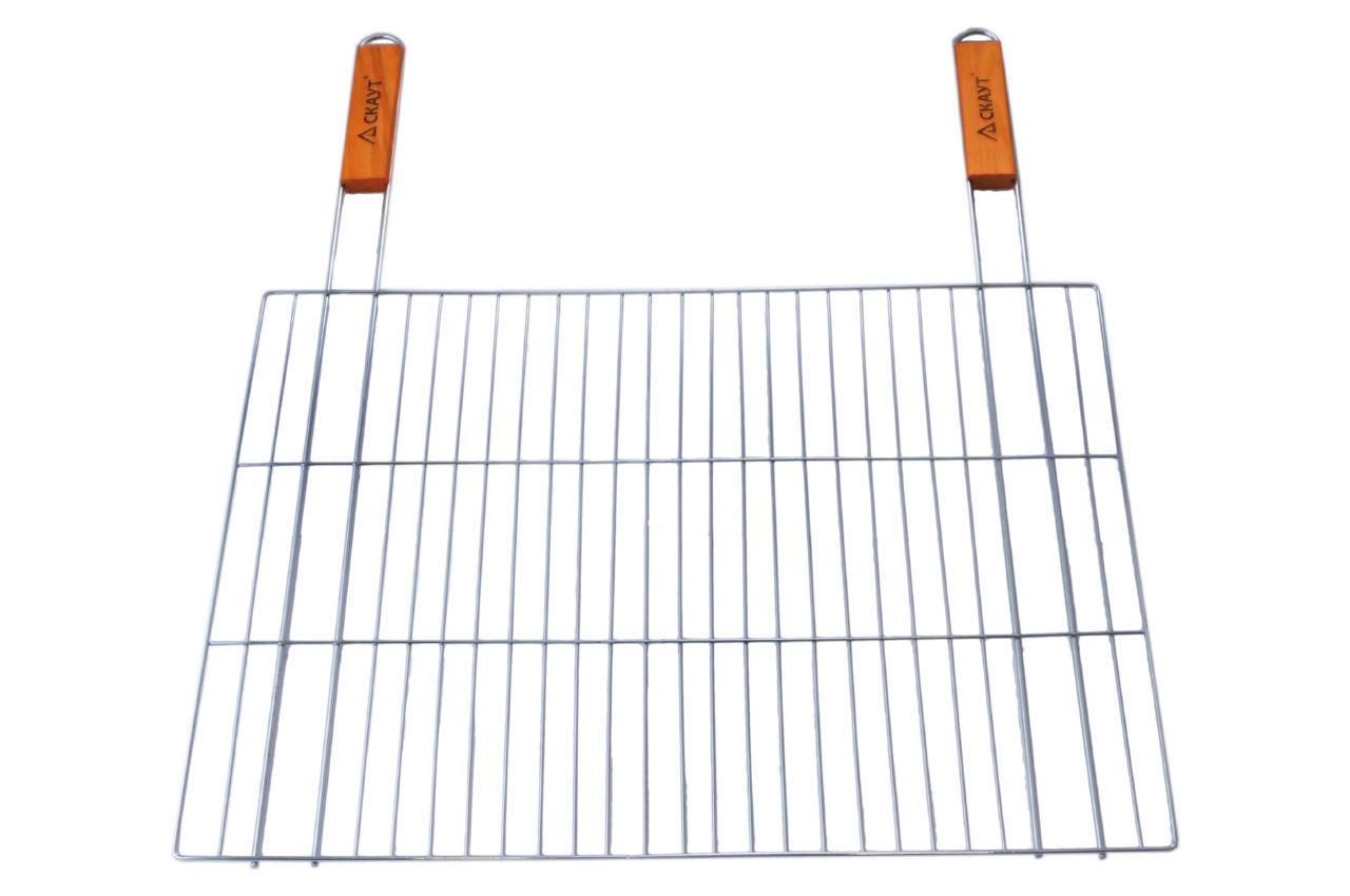 Решетка-гриль АМА Скаут - 580 x 300 мм 2 ручки