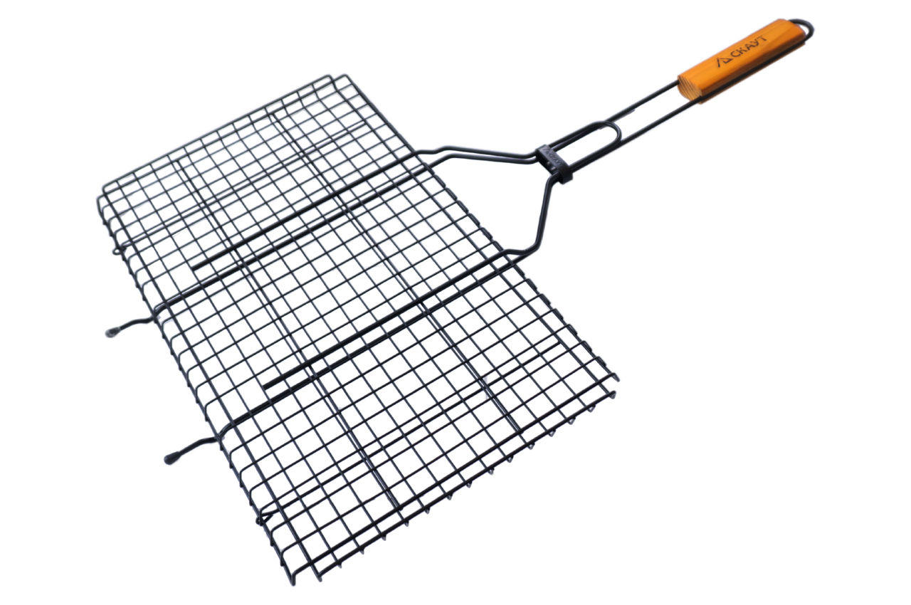 Решетка-гриль АМА Скаут - 460 x 255 x 20 мм антипригарная
