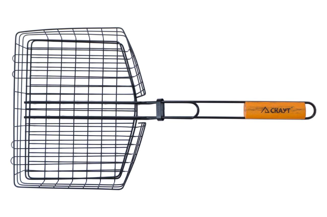 Решетка-гриль АМА Скаут - 305 x 235 x 55 мм антипригарная