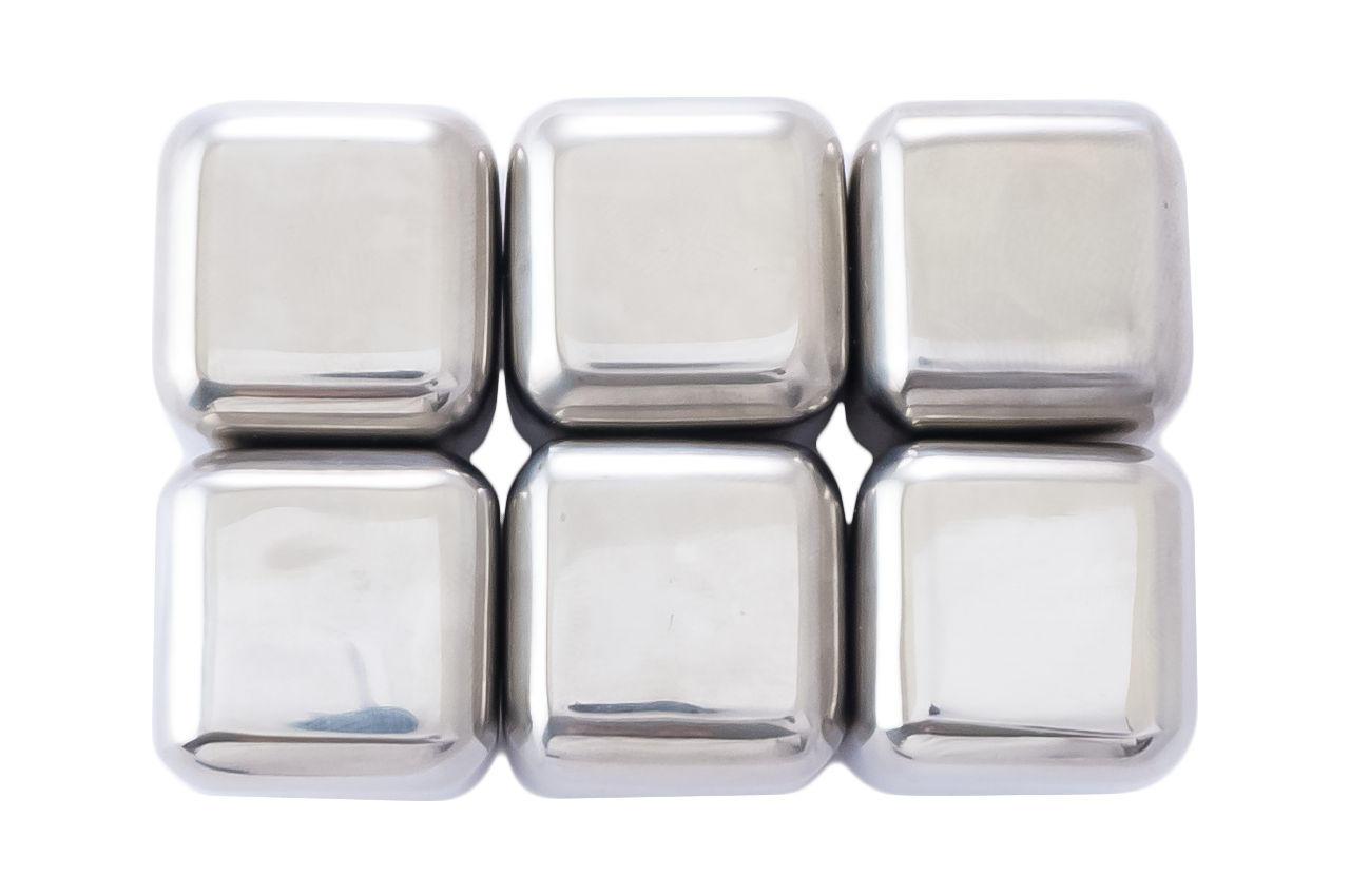 Камни для виски Kamille - 27 мм нержавеющие (6 шт.)