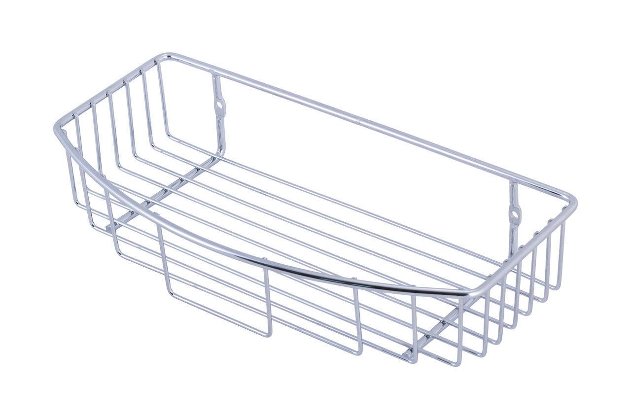 Полка для ванной Besser - 300 x 150 x ***0 мм полуовальная одинарная