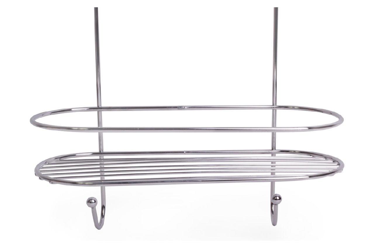 Полка для ванной Besser - 260 x 115 x 350 мм овальная двойная
