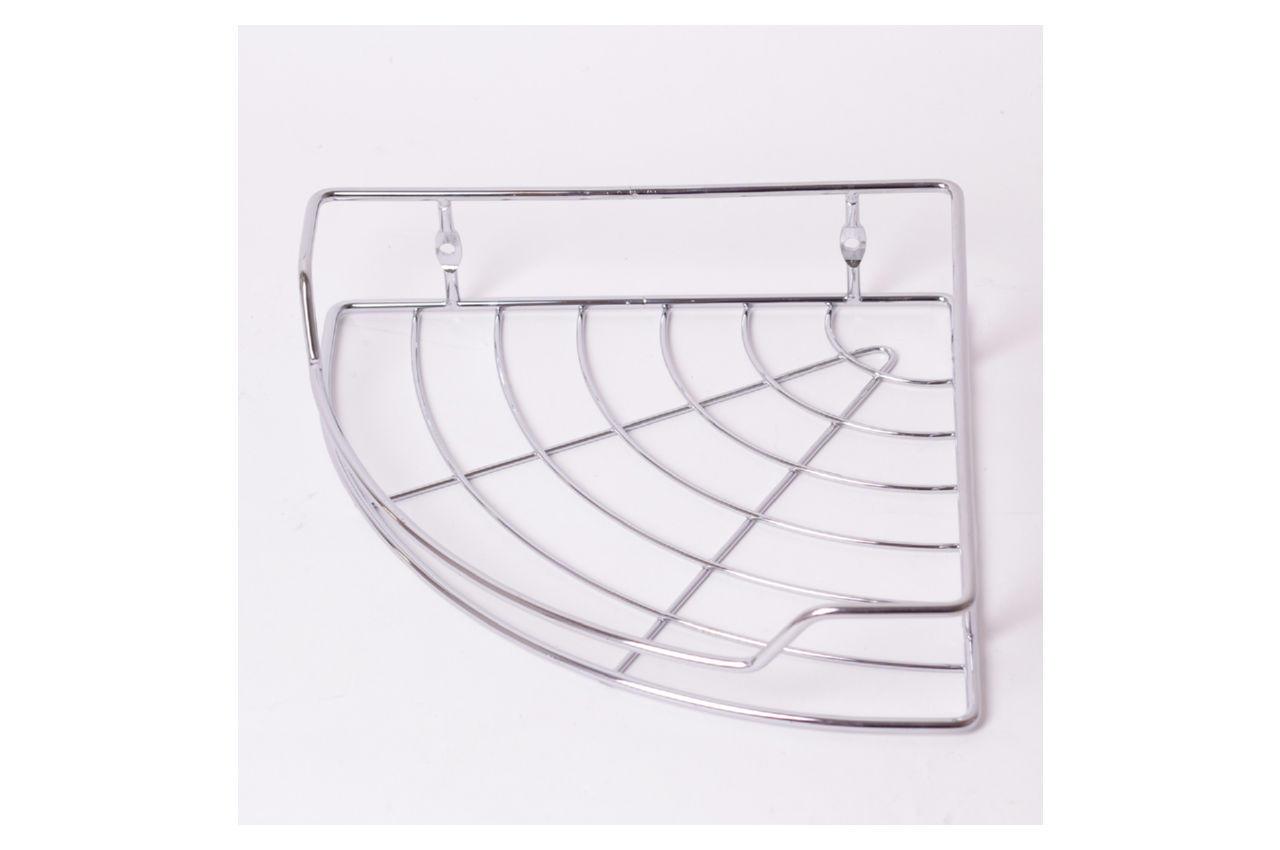Полка для ванной Besser - 215 x 215 x 50 мм угловая одинарная