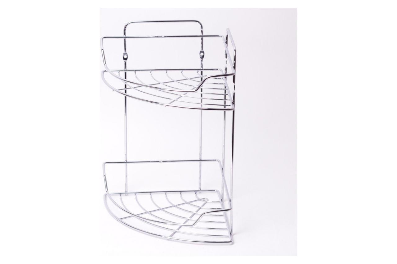 Полка для ванной Besser - 215 x 215 x 330 мм угловая двойная