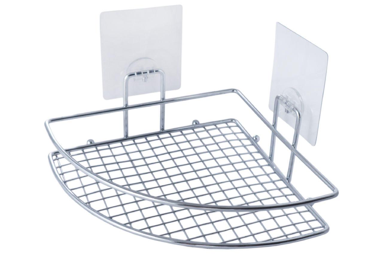 Полка для ванной Besser - 205 x 205 x 80 мм угловая одинарная
