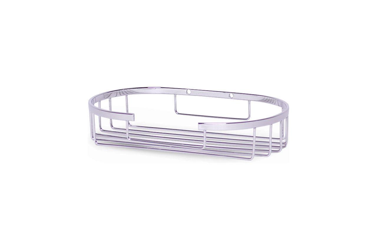 Полка для ванной Besser - 180 x 108 x 35 мм овальная