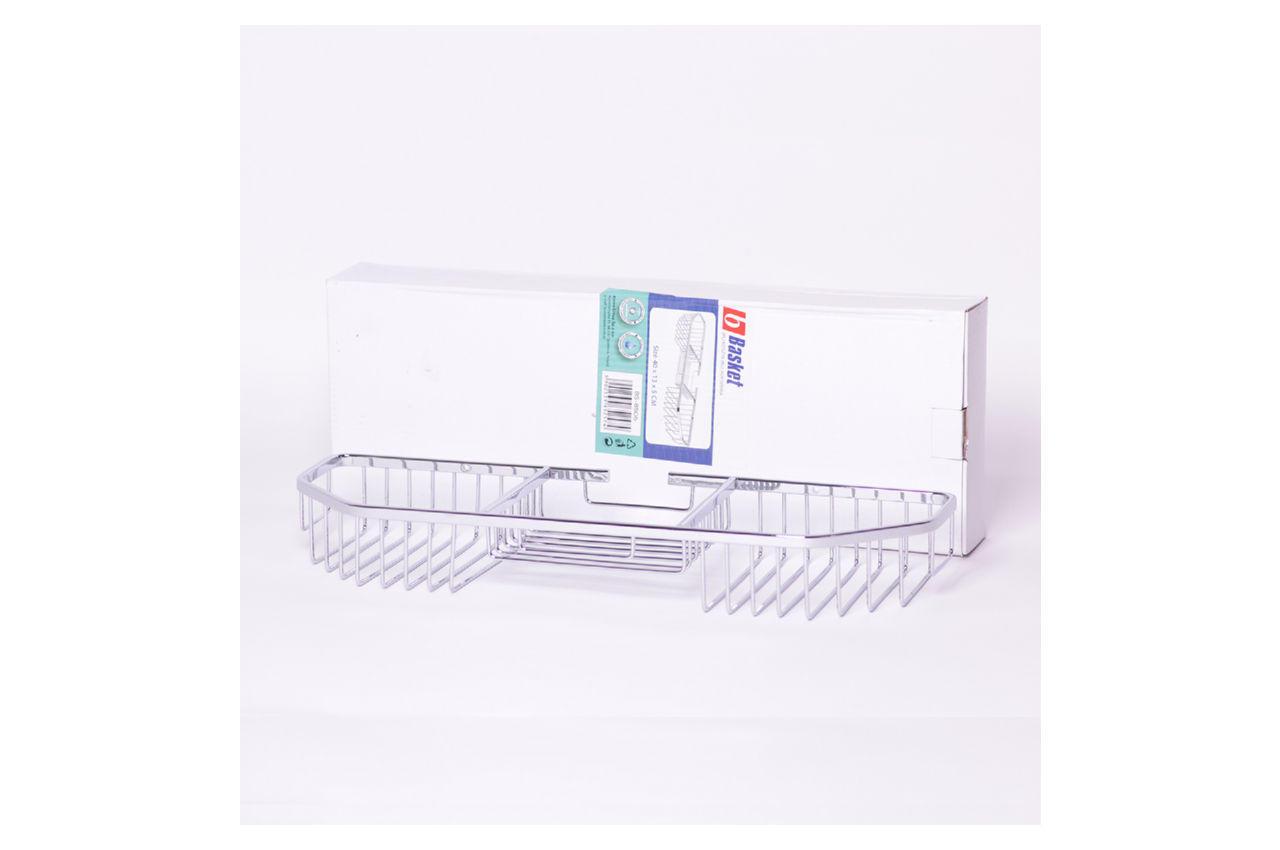 Полка для ванной Besser - 400 x 130 x 50 мм полуовальная