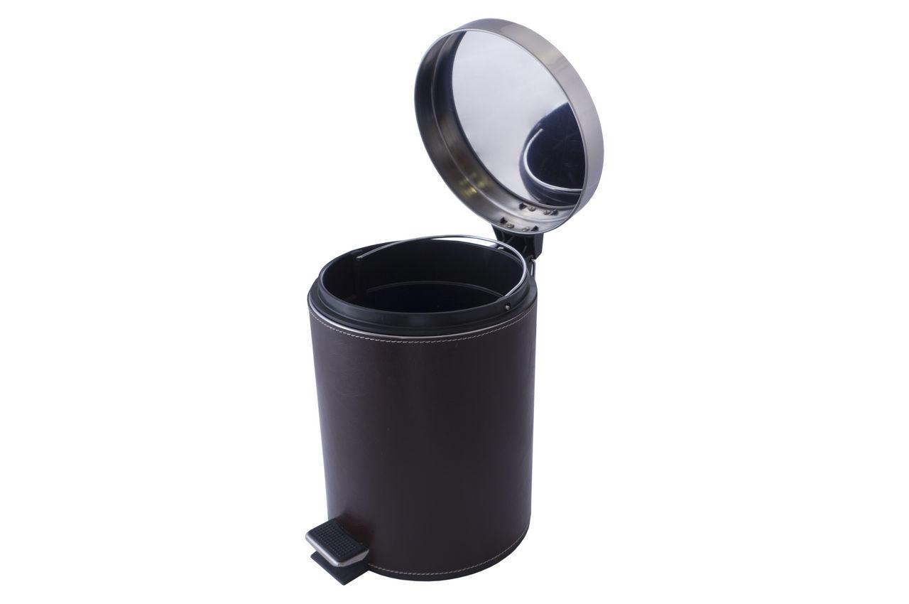 Ведро для мусора Besser - 5 л кожзам