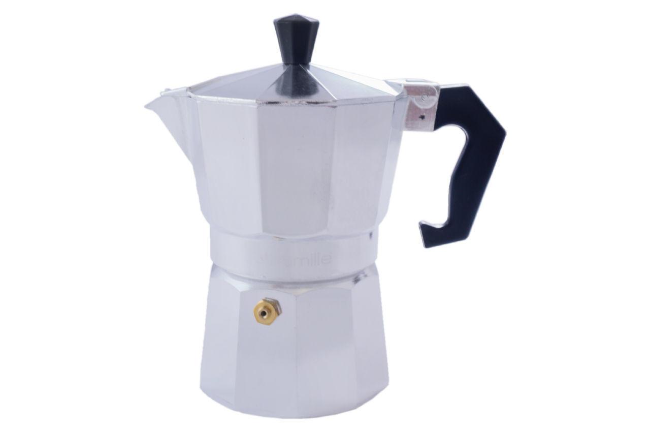 Кофеварка гейзерная алюминиевая Kamille - 150 мл