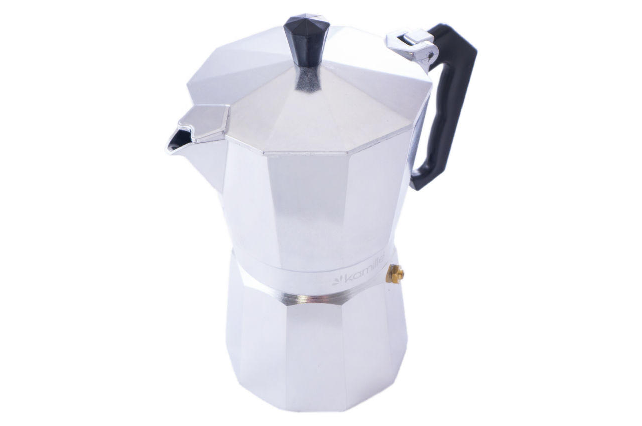 Кофеварка гейзерная алюминиевая Kamille - 300 мл
