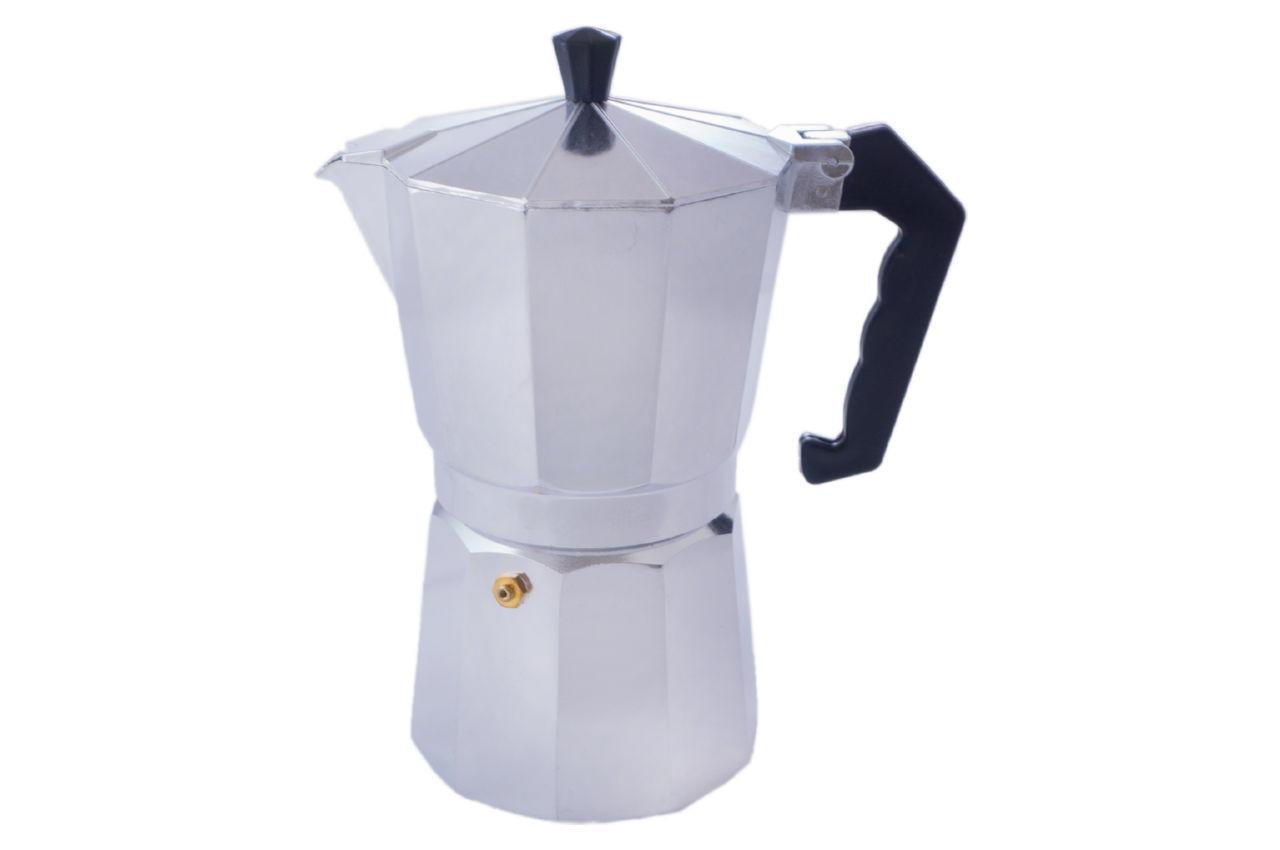 Кофеварка гейзерная алюминиевая Kamille - 450 мл