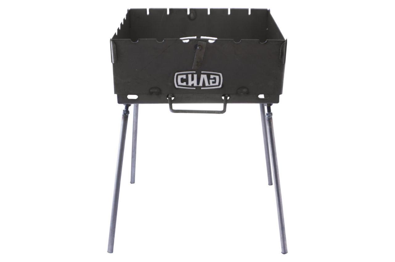 Мангал-чемодан Сила - 1,5 мм x 6 шп